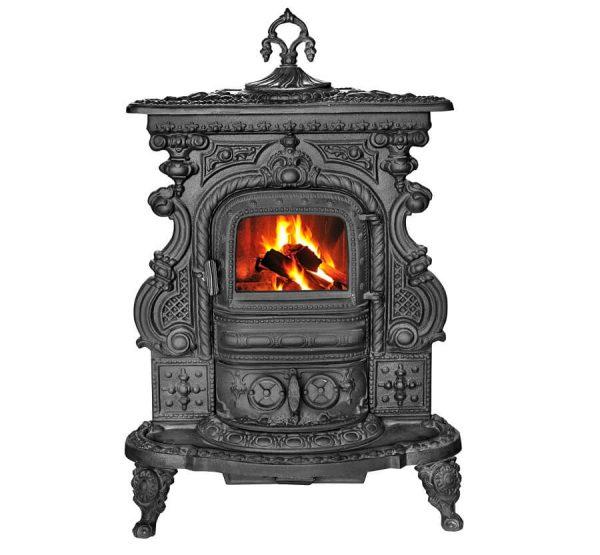 Печка на дърва Ирезида чугунена 5 kW